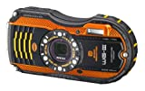 Pentax Optio WG-3 orange 16 MP Waterproof Digital Camera with 4-Inch LCD Screen (Orange)