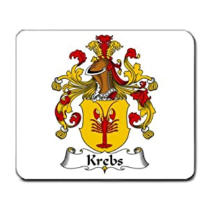 Amazon.com : Krebs Family Crest Coat of Arms Mouse Pad : Office