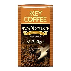 キーコーヒー LPマンデリンブレンド 200g(豆)
