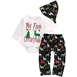 cb20922d77613 baby my first christmas bodysuit and deer print pants outfit with hat 806