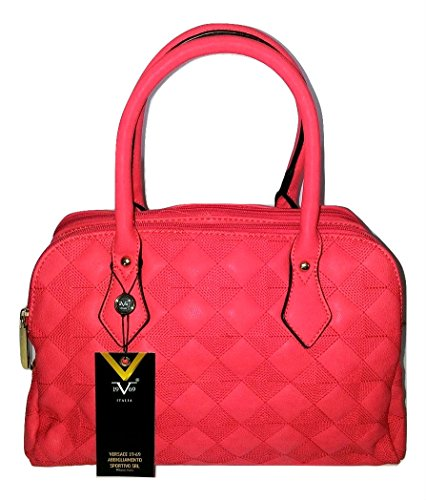 Versace Coral Red Duffle Bag