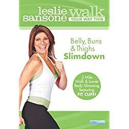 Leslie Sansone: Belly, Buns, & Thighs Slimdown - Walk Your Way Thin
