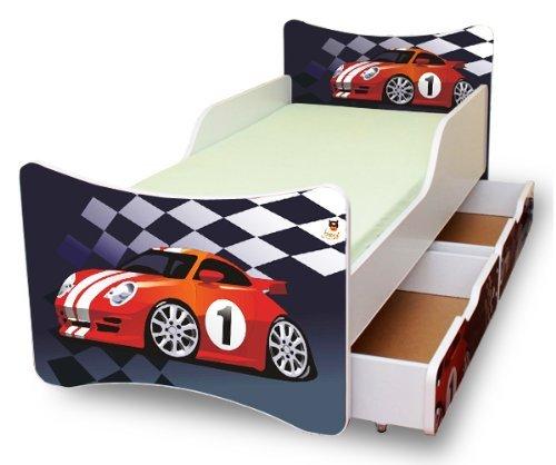 BEST FOR KIDS LIT POUR ENFANT 90x200 AVEC 2 TIROIR S CARS I