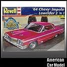 64 Chevy Impala LowRider 2in1 1964 シボレー インパラ ローライダー Revell 85-2574 1:25スケール Chevrolet シェビー プラモデル [並行