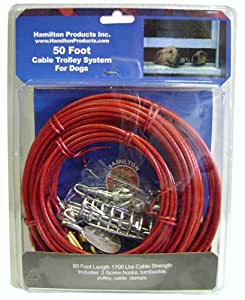 Hamilton 50-Foot Cable Trolley System for Dogs