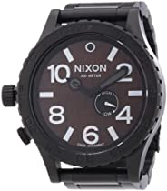 Nixon A057-2107 Mens 51-30 Tide Darkwood Watch