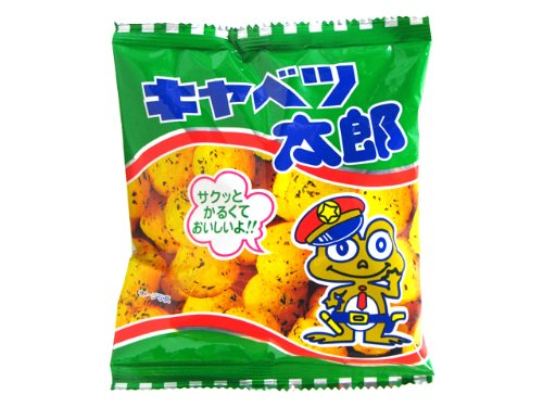 菓道の太郎シリーズ  キャベツ太郎 (1大袋に14g小袋が30袋入り)