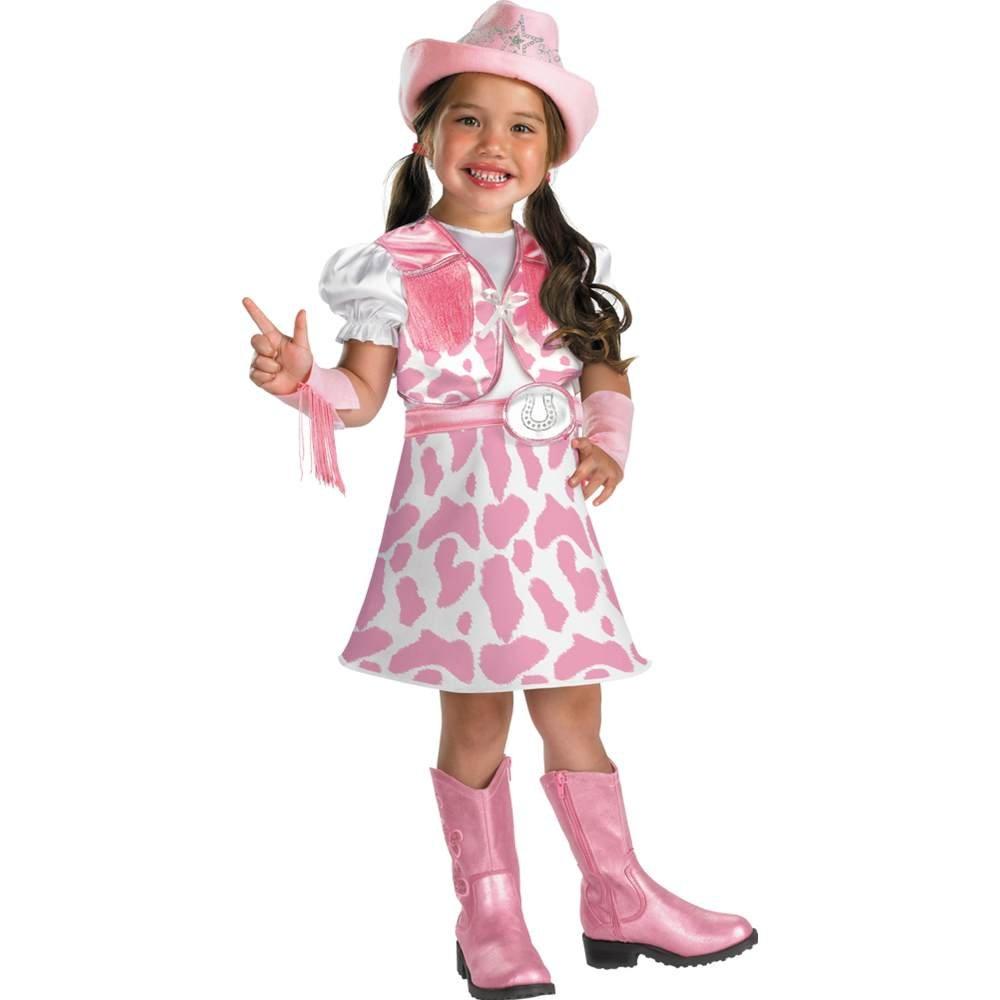 Disguise Wild West Cutie Girls Costume