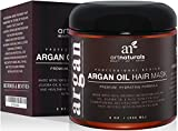 Art Naturals Argan Oil Hair Mask, Deep Conditioner 8 Oz, 100% Organic Jojoba Oil, Aloe Vera & Keratin, Repair Dry, Damaged Or Color Treated Hair After Shampoo, Best For All Hair Types - Sulfate Free