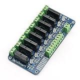SainSmart 8-Channel 5V Solid State Relay Module Board for Arduino Uno Duemilanove MEGA2560 MEGA1280 ARM DSP PIC (Tamaño: 8-CH)