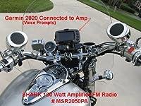 Shark 100 Watt Motorcycle Audio System wtih Amplifier & FM Radio (SHKCYCLERADIOKIT) from shark