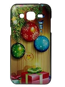 kelpuj Matte Finish Printed Hard Plastic Back Cover for Samsung Galaxy J3 - Design2