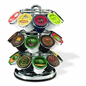 Keurig 5060 27-Cup-Capacity K-Cup Spinning Carousel, Chrome