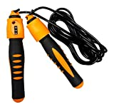 Dezire Plastic Counter Skipping Rope (Orange)