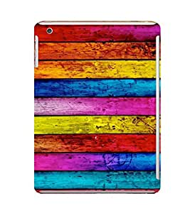 EPICCASE Colorful wood logs Mobile Back Case Cover For Apple Ipad Mini (Designer Case)