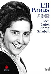 Lili Kraus in Recital