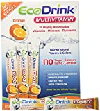 Ecodrink® Multivitamin Drink Mix 60 Packets - (ORANGE Flavor Only)