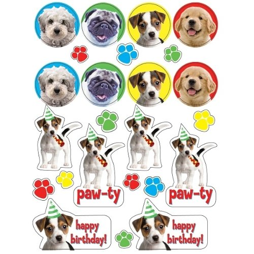 Dog Party Stickers - 1