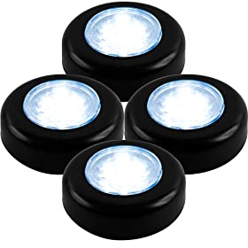  Super Bright 72-1243 Click-On Stick up LED Lights by Super Bright, Set of 4