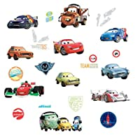 RoomMates RMK1583SCS Disney Pixar Cars 2 Peel & Stick Wall Decals by York Wallcoverings