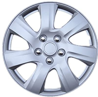 "Drive Accessories KT-1021-15S/L, Toyota Camry, 15"" Silver Replica Wheel Cover, (Set of 4)"
