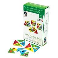Skillofun Alphabet Match-Up Tiles, Multi Color