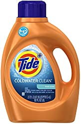 Tide Coldwater Clean High Efficiency Liquid Laundry Detergent, Fresh - 92 oz