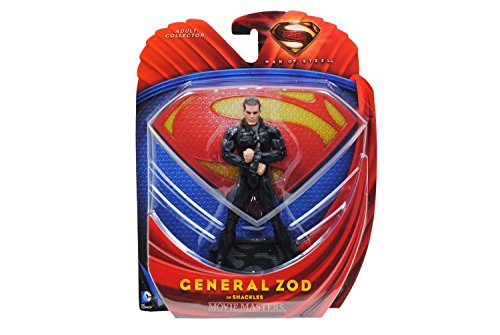 Superman Man of Steel Movie Masters General Zod in Shackles Action Figure