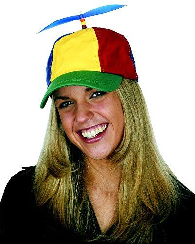 Jacobson Hat Company Men's Multi-Color Propeller Cap, Multi, Adult