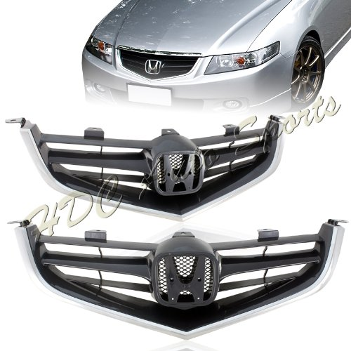 2004 2005 Acura TSX JDM Euro R Style Front Grills
