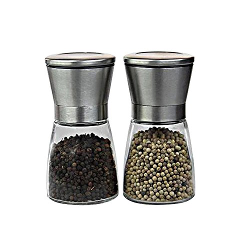anca-demi-2-set-of-salt-and-pepper-shakers-stainless-steel-pepper-mills-and-grinder-set-with-adjusta