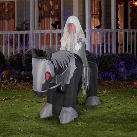 Airblown Inflatables Large Ghost Rider 6 feet Halloween Decoration