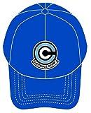 ドラゴンボール カプセルコーポレーション刺繍キャップ カラー:ブルー