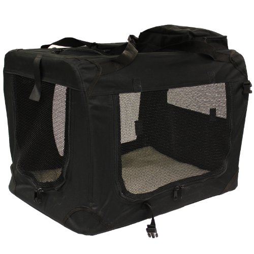 Mool-Lightweight-Fabric-Pet-Carrier-Crate-with-Fleece-Mat-and-Food-Bag