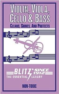 Blitz 333 Violin Care Cloth from Blitz