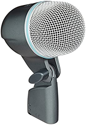 Shure BETA 52A Supercardioid Dynamic Kick Drum Microphone with High Output Neodymium Element from Shure Incorporated