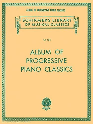 Album of Progressive Piano Classics Schirmer Library of Classics Volume 1314 Piano Solo (Tapa Blanda)