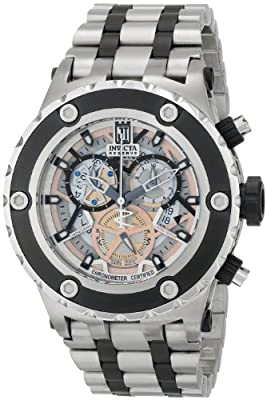 Invicta Men's 12958 Jason Taylor Analog Display Swiss Quartz Two Tone Watch