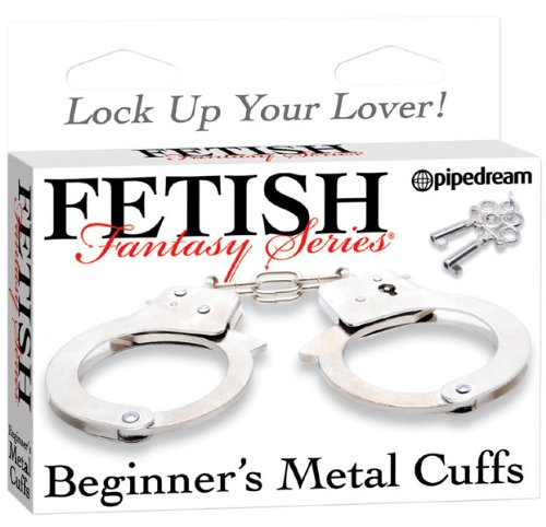 Bondage Metall Handschellen - Fetish Fantasy
