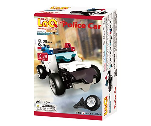 LaQ ハマクロンコンストラクター ミニ パトカー