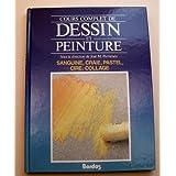 COURS COMPLET DE DESSIN ET PEINTURE VOLUME 3 : SANGUINE, CRAIE, PASTEL, CIRE, COLLAGE