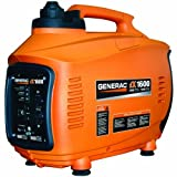 Generac 5792 iX1600 1,600 Watt 99cc 4-Stroke OHV Gas Powered Portable Inverter Generator