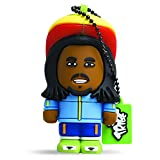 Tribe FD008302 Toonstar Pendrive Figure 4 GB Funny USB Flash Drive 2.0 Memory Stick Data Storage, Keyholder Key Ring, Rasta, Blue