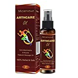Morpheme Arthcare Oil For Joints, Muscular Pain, Back And Knee Pain (50 Ml)