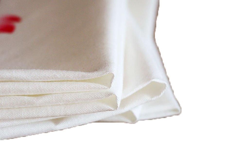 Ladies Chinese Antique Style Soft Cotton Linen handkerchiefs 2