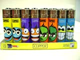 Clipper Lighter with Face Designs