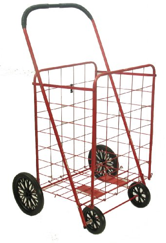 Red Large Trimmer Large Shopping Cart