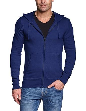 Blend Herren Strickjacke Slim Fit 700170, Gr. 54 (XL), Blau (70162-M)
