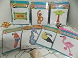 6 Pc TROPICAL Inflates INFLATABLES -wholesale LUAU party supplies & decorations