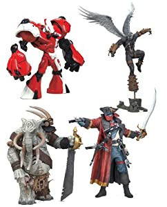 Spawn Series 34 Neo-Classic Figures Case Of 8